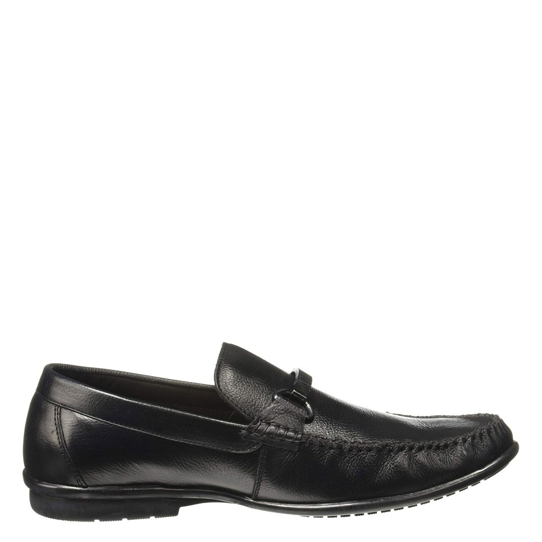 LEECOOPER BLACK CASUAL LOAFERS FOR MEN LC2339B
