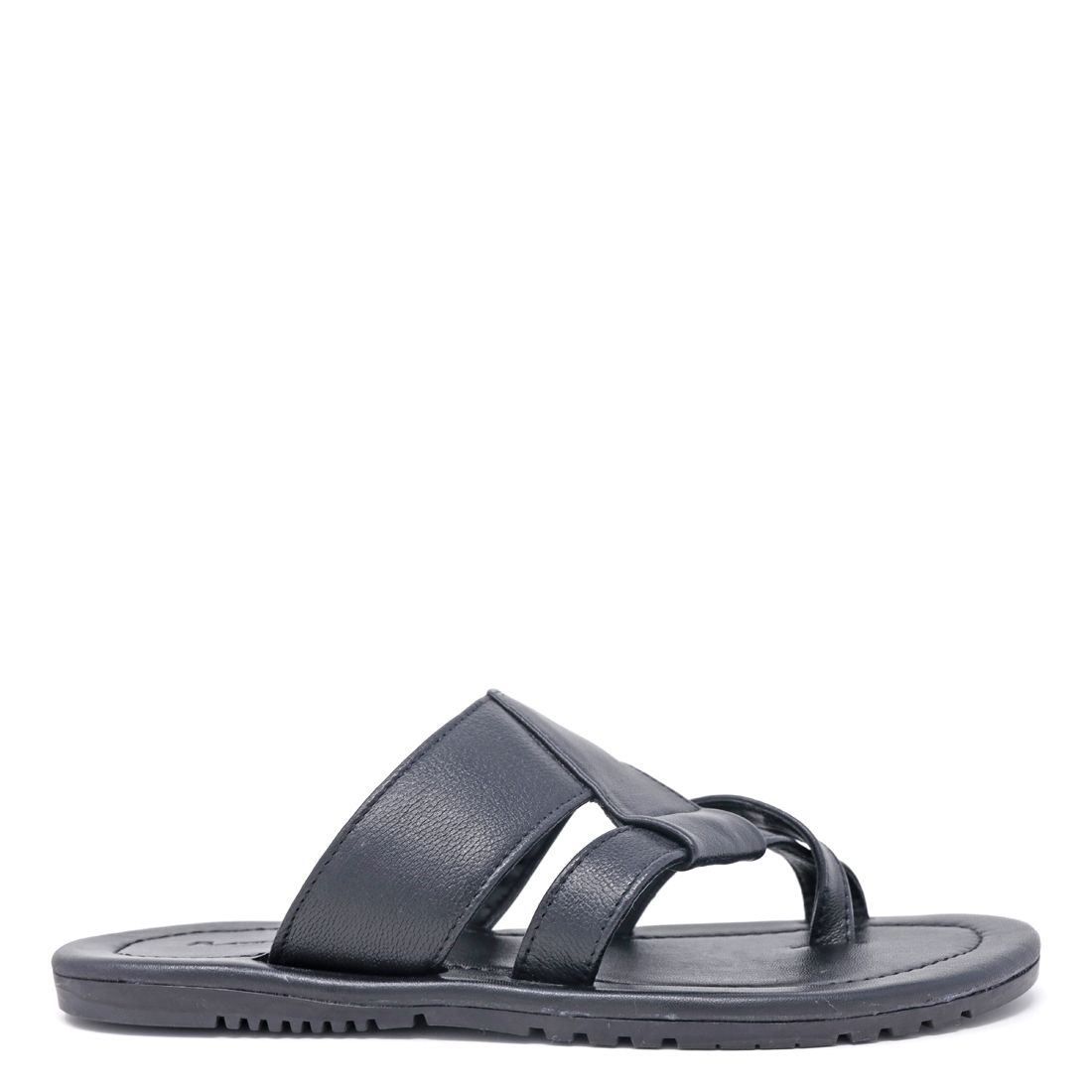 STYLE FACTOR BLACK CASUAL CHAPPALS FOR MEN SF-A26