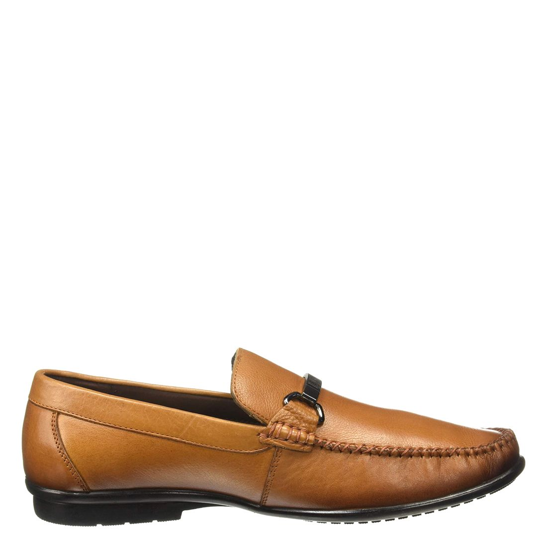 LEECOOPER TAN CASUAL LOAFERS FOR MEN LC2339B